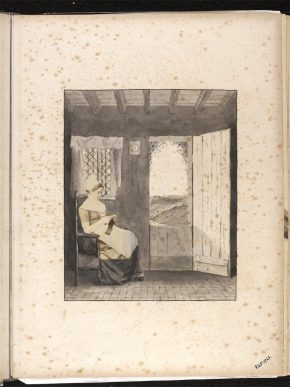 Page from Kate Gough's Album, 1870s. Museum no. 845-1963 © Victoria and Albert Museum, London