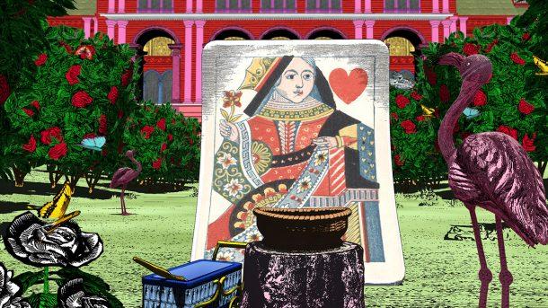 Screenshot from Curious Alice, the Queen's Croquet Garden