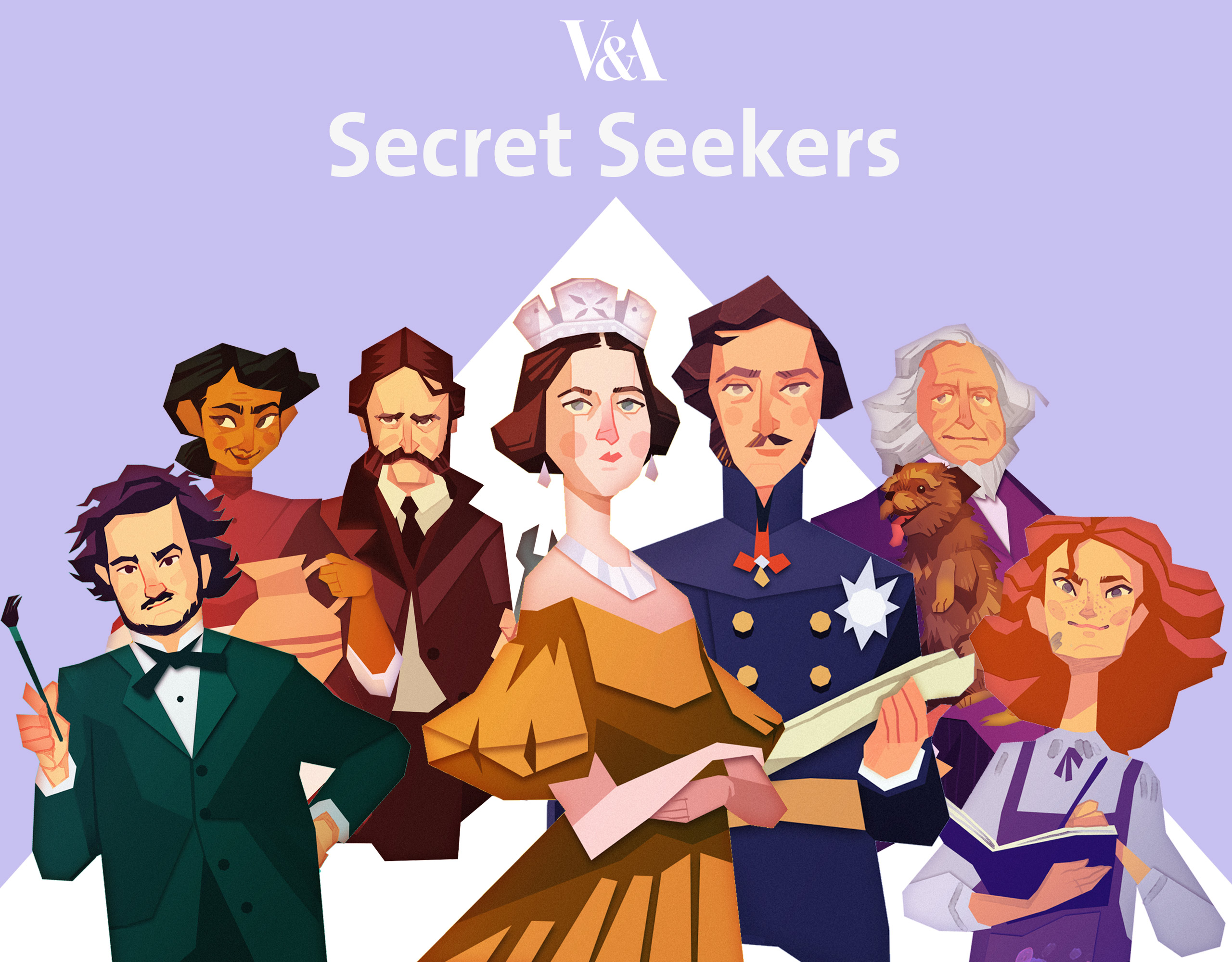 V&A Secret Seekers © Victoria and Albert Museum