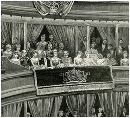 Grand Concert on 9 July 1891 for the visit of Their Imperial Majesties The German Emperor and Empress