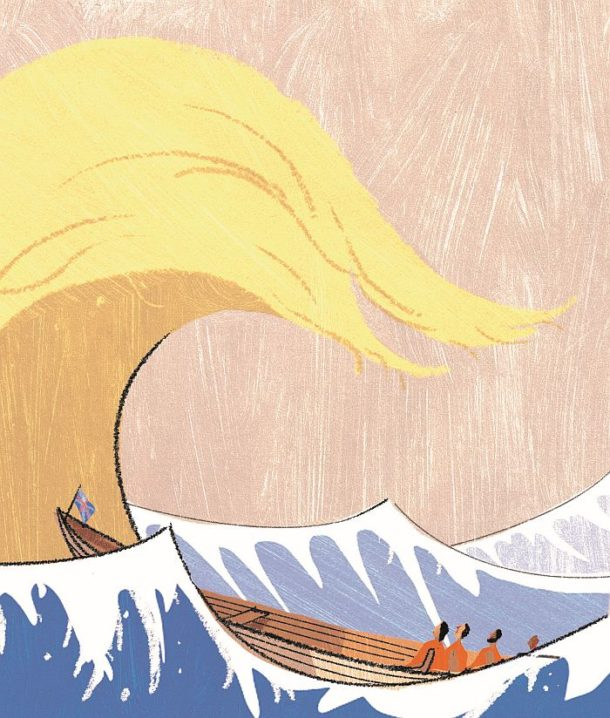 A. Richard Allen for 'Trump Wave', in The Sunday Telegraph Money