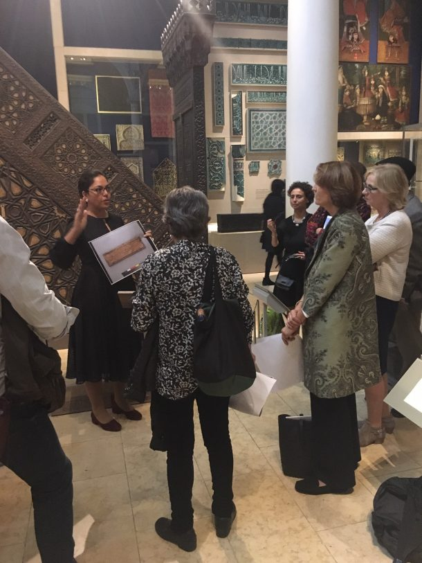 Discussing contemporary restoration of historic minbars in Egypt