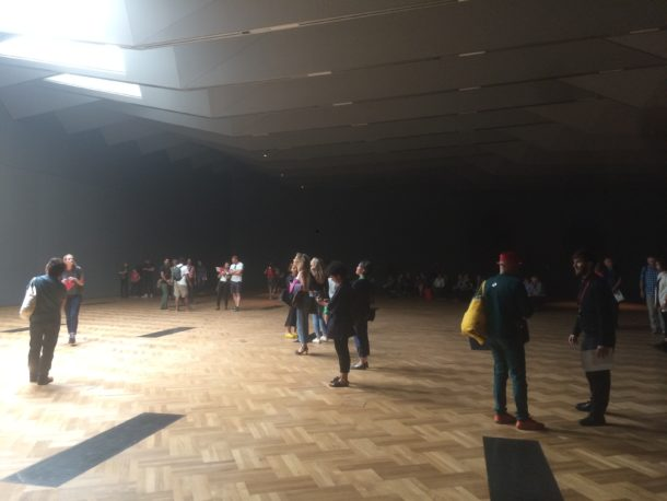Listening to the gallery