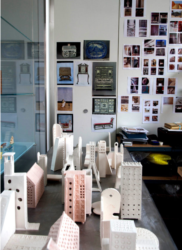 Research Informing Practice At Lubna Chowdharyu0027s Studio In The Vu0026A Ceramics  Galleries. © Moon Hussain