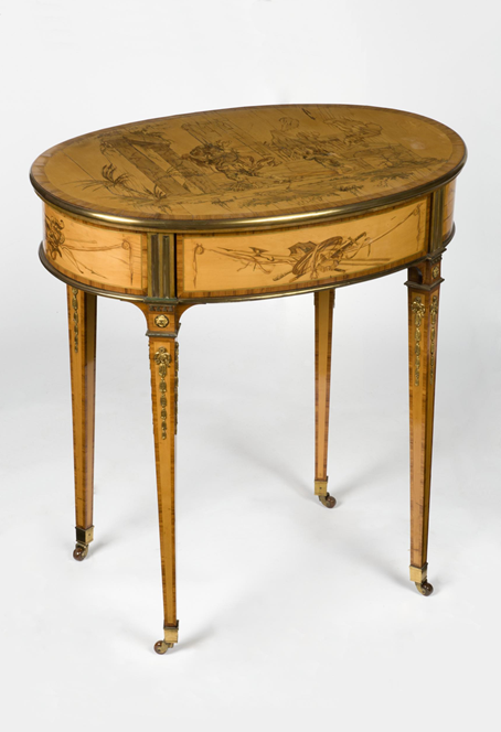 David Roentgen, Writing Table