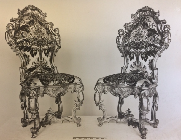 Set of Six Chairs, Venetian Late 18th century