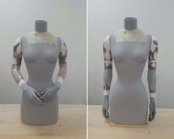 Figure 1. Torso with custom arm amendments by Proportion>London