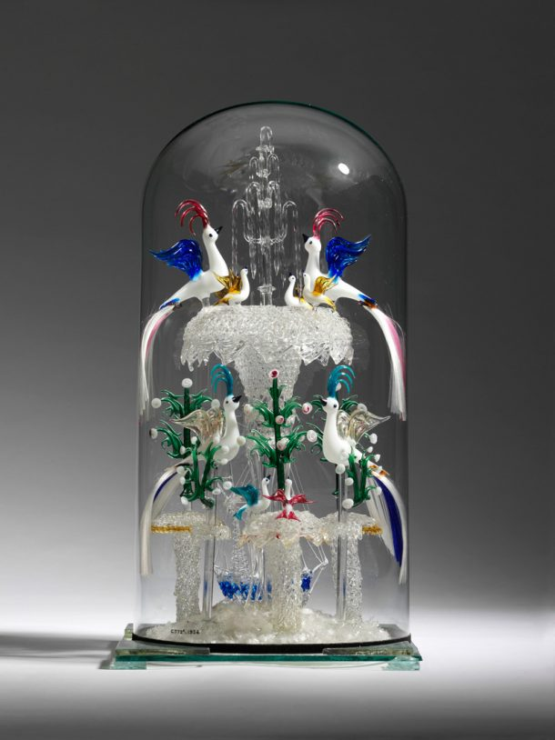 Figure 5. Glass centrepiece after conservation