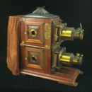The Monarch Ethopticon Bi-Unial Magic Lantern
