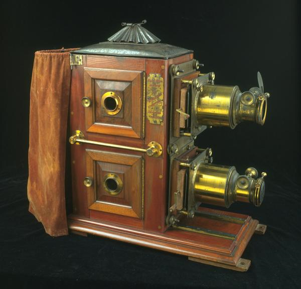 The Monarch Ethopticon Bi-Unial Magic Lantern