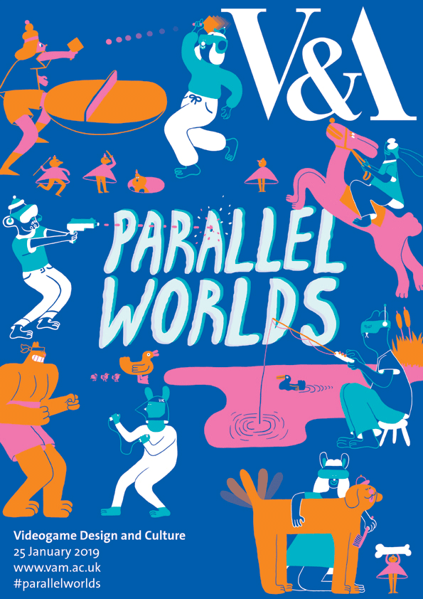 poster for parallel worlds 2019