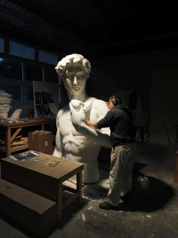 Head and arms on the torso. Image courtesy of the 20th Century Fox