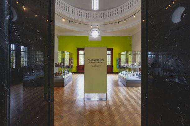 Entrance view of Portmeirion: Pottery Trendsetter display Room 146