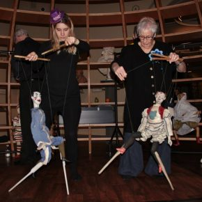 Strings and stilts, photo by Tom Crame