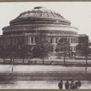 The Royal Albert Hall, photographed in 1872, V&A 73273.