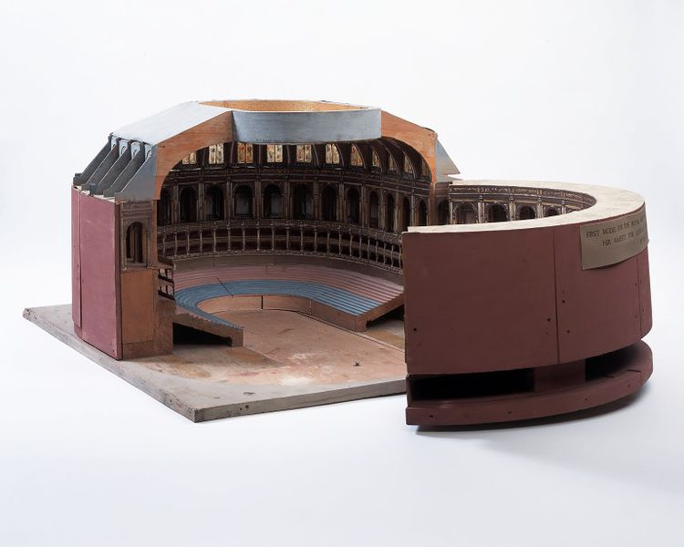 Architectural model of the Royal Albert Hall
