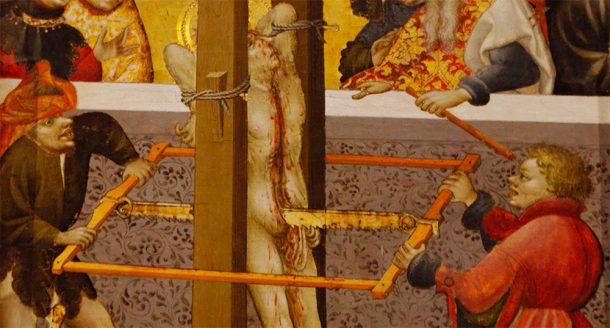Torture scene from the Altarpiece of St George
