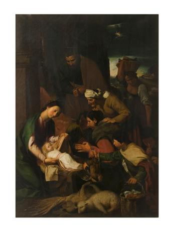 Godfrey Sykes, Adoration of the Magi