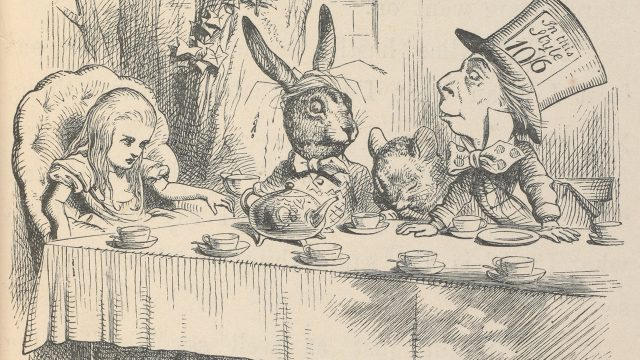 Illustration from Alice's Adventures in Wonderland