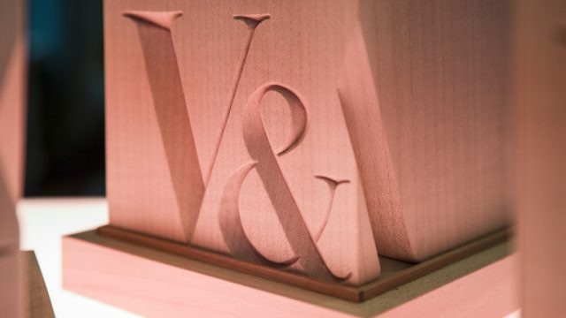 V&A Illustration Award winner's trophy