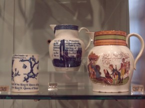 'Revolutionary' pots on display, from the Willett Collection © Brighton Museum and Art Gallery