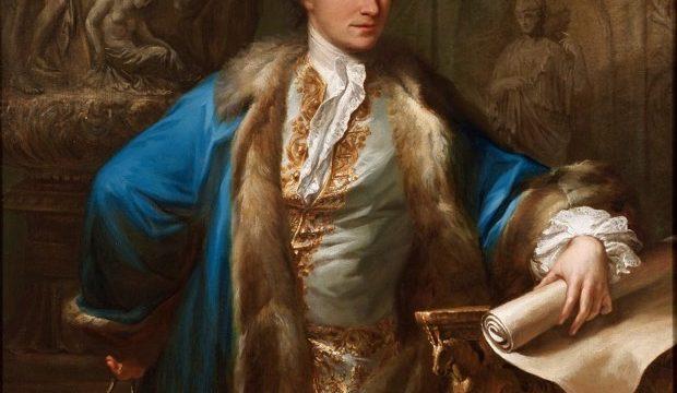 Antonio Zucchi's portrait of James Adam