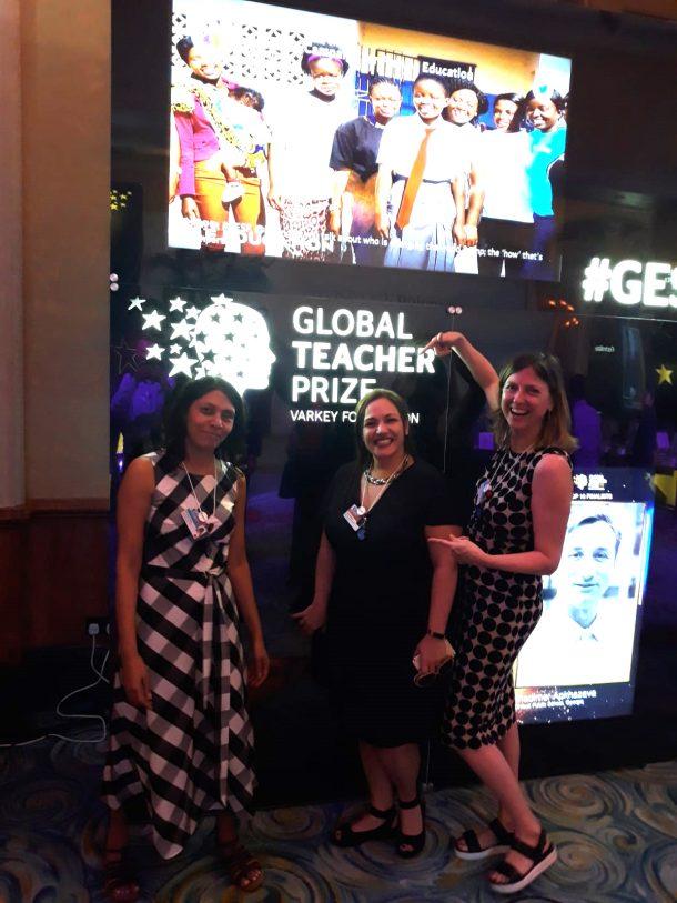 Celebrating Andria Zafirakou's year as 2018 Global Teacher