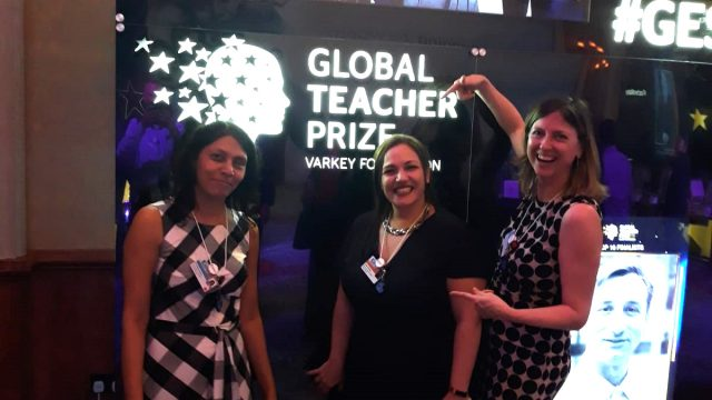 Celebrating Andria Zafirakou's year as 2018 Global Teacher