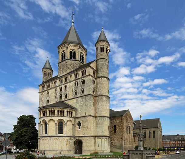 Collegiate Church of St. Gertrude © Marc Ryckaert, 2014.