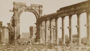Drawing, `Palmyra', 1837, by Antonio (Anton Jr. or Antoine) Schranz.