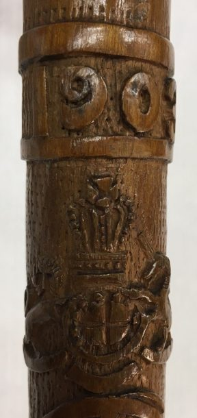 Carved royal coat of arms of the United Kingdom