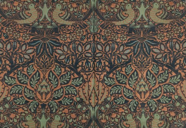 A version of Morris's Dove and Rose fabric