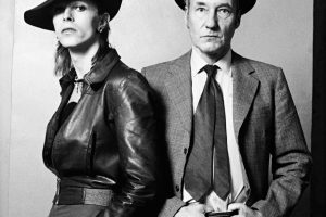 William Burroughs and David Bowie