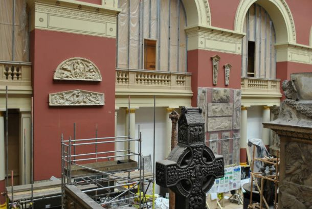 Repro. 1902-17 (bottom left), after re-installation in the cast court gallery (46a), 2018 © Victoria and Albert Museum, London