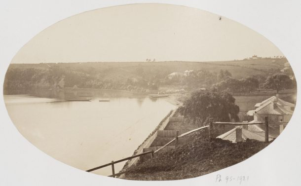 Photograph of St George's Bay, Auckland, New Zealand by Daniel Manders Beere, about 1864, Museum number PH.95-1981 © Victoria and Albert Museum