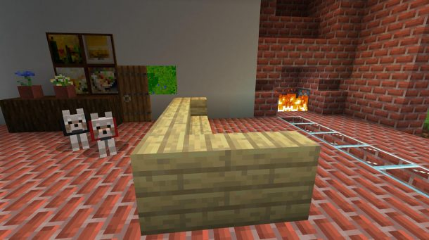 Memory created in Minecraft