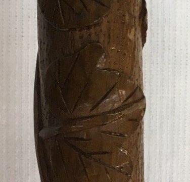 Carved ivy