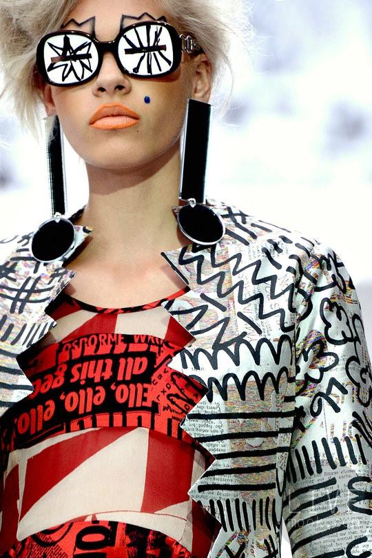 Model wearing Louise Gray Designs