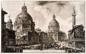 Etching, Le Vedute di Roma (The Views of Rome