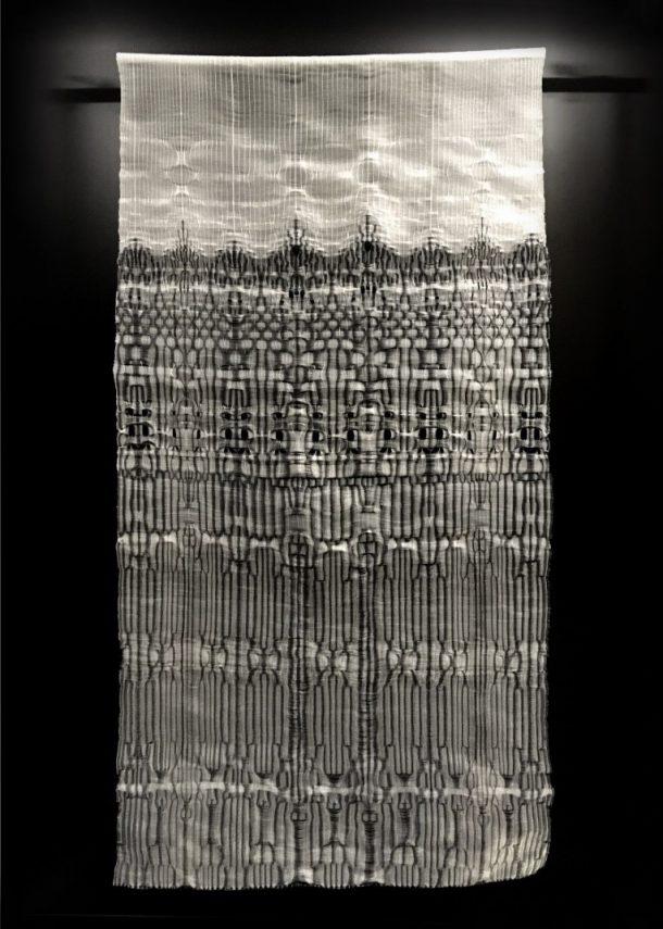 Rita Parniczky X-Ray Series woven sculpture