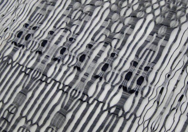 X-Ray Series Woven Sculpture, Rita Parniczky, 2010