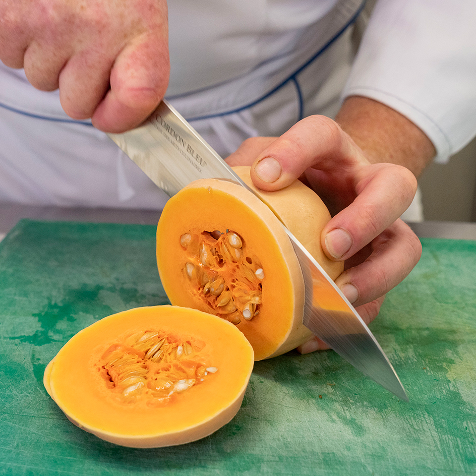 Slicing the squash