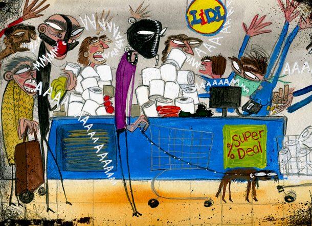 'Social Distancing'. © Ann Kiernan