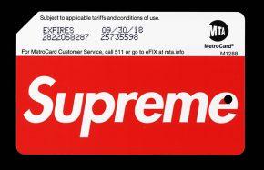 Supreme Metrocard