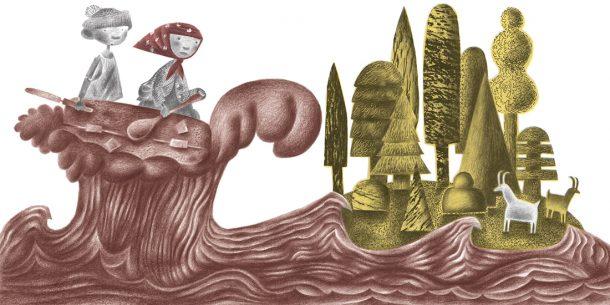 Book illustration by Clive Hicks-Jenkins