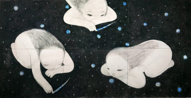 'Starring Night', illustration by Ruo Hsin Wu