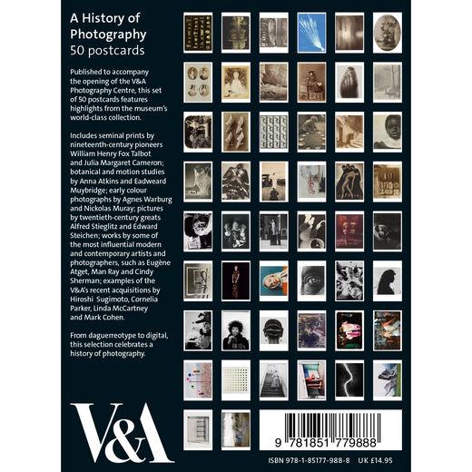 V&A Photography Centre: 50 postcards