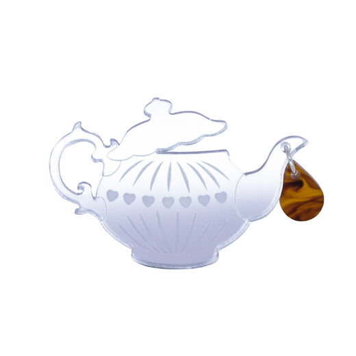 Teapot brooch by Tatty Devine