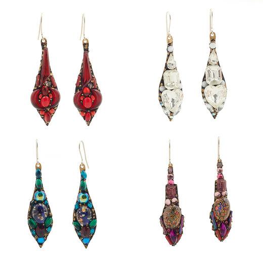 Large hook earrings by Annie Sherburne - assorted