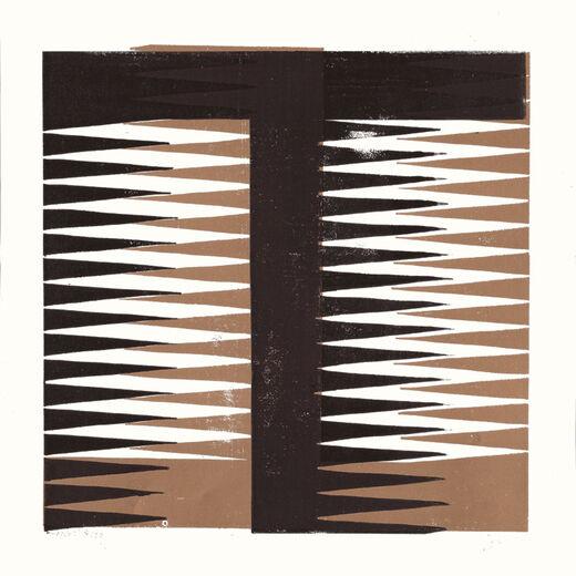 T by James Brown (Alphabet Lino Print)